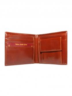 กระเป๋าสตางค์ สองพับ หนังแท้ CCO Simple Bifold Leather Wallet