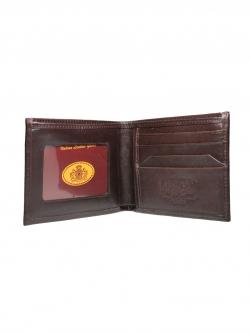 กระเป๋าสตางค์ สองพับ หนังแท้ Simple Bifold Leather Wallet