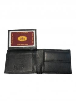 กระเป๋าสตางค์ สองพับ หนังแท้ Chamois Leather Wallet