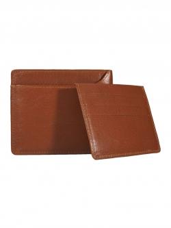 กระเป๋าสตางค์ สองพับ หนังแท้ Bi-fold Leather Wallet with Card Holder/ID Card Sleeve