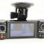สุดเทพ!! กล้องติดรถยนต์ ระดับHD มีกล้องหน้า/หลัง - GS-TWIN+ II ด้วยกล้อง HD 1280*720 / VGA มี Night Vision ,อัดวนลูป 32GB thumbnail 1