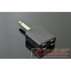 Adapter TR6.35x2-TR6.35