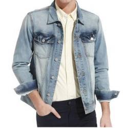 เสื้อคลุมแจ็กเก็ตยีนส์ สีฟ้าอ่อน No.38 40 42 44 46