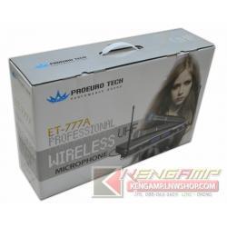 PROEUROTECH ET-777A Dual UHF Wireless Microphone
