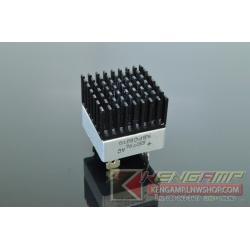 Heatsink สำหรับติดไดโอดบริดจ์สีดำ