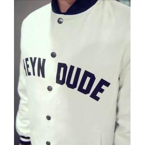 เสื้อแจ็คเก็ตเบสบอล แฟชั่น heyd No.36 38 40 42 44