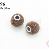 บอลเพชร เกรดดี สีน้ำตาล 15มิล (1ชิ้น)
