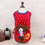 เสื้อจุดแดงหมีน้อยไซด์ XL
