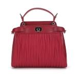 กระเป๋าแบรนด์เนม PISIDIA รุ่น AREZZO สีแดงเข้ม (ส่งฟรี EMS)