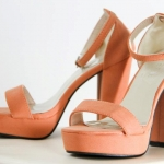 Sexy Pop High Heels { Light Orange }