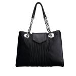 กระเป๋าแบรนด์เนม PISIDIA รุ่น STRESA สีดำ (ส่งฟรี EMS)