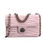 กระเป๋าแบรนด์เนม PISIDIA รุ่น VINCI สีชมพู (ส่งฟรี EMS)