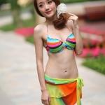 {PreOrder} Rainbow on Hot Beach Bikini Set