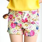 Sexy Florist Short Pant