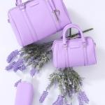 กระเป๋าแบรนด์เนม PISIDIA รุ่น WELKIN mini สีม่วง (ส่งฟรี EMS)