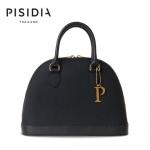 กระเป๋าแบรนด์เนม PISIDIA รุ่น CLAMSHELL สีดำ (ส่งฟรี EMS)