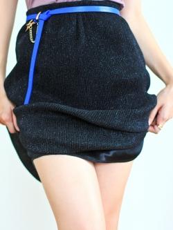 Sparking on You Skirt (black)