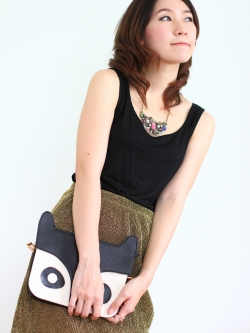 Raccoons Bag (black)