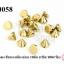 หมุดแหลม สีทองเหลืองอ่อน 10มิล (1ขีด/100กรัม) thumbnail 1