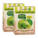 Smooto Apple Qio Baby White Cream 6 ซอง/กล่อง (แอปเปิลเบบี้ไวท์)