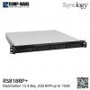 Synology RackStation (1U 4-Bay) RS818RP+ (2GB RAM) Redundant Power Supply - Rail kit (not included)