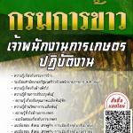 แนวข้อสอบ เจ้าพนักงานการเกษตรปฏิบัติงาน กรมการข้าว พร้อมเฉลย
