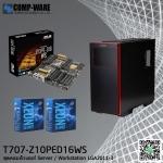 Comp-Ware Workstation T707-Z10PED16WS , E5-2603v4 , 16GB , 120GB SSD, 2TB HDD , DVDRW, Tower 750watt 80plus ประกัน 3 ปี (on-site)