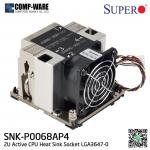 Supermicro 2U Active CPU Heatsink Socket LGA3647-0 (SNK-P0068AP4) for Intel Scalable Workstation