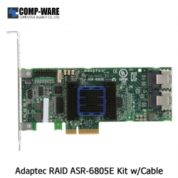 Microsemi Raid Controller 2271800-R (8-Port Internal) PCIe ASR-6805E Kit