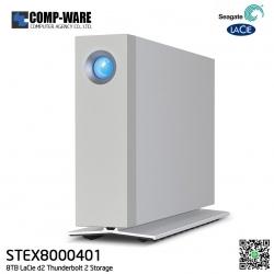 Seagate LaCie 8TB d2 Thunderbolt2 USB3.0 External Hard Drive [STEX8000401]