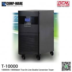 PCM Cleanline UPS T Series (Tower) 10000VA / 8000Watt True On-Line Double Conversion T-10000