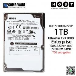 HGST ULTRASTAR C7K1000 1TB 7200RPM Enterprise SAS 6Gb/s 2.5inch 64MB Cache TCG encryption HUC721010ASS601 - 0B30781