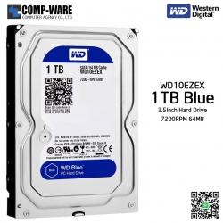 WD Blue 1TB Desktop Hard Drive SATA 6Gb/s 7200RPM 64MB Cache 3.5Inch - WD10EZEX