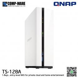 QNAP NAS (1-Bay) TS-128A (1GB DDR4 RAM)
