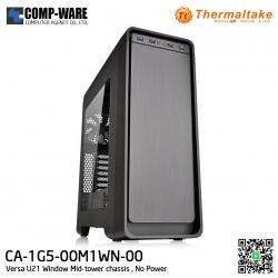 Thermaltake Versa U21 Window Mid-tower chassis , No Power - CA-1G5-00M1WN-00