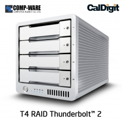 CalDigit T4 RAID 4-Bay Thunderbolt™ 2 with 20TB (5TBx4)