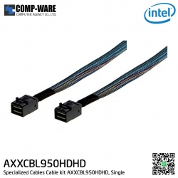 Intel Cable kit AXXCBL950HDHD - (2) 950mm Cables with straight SFF8643 to straight SFF8643 connectors Accessories