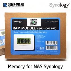 Synology RAM Module 2GB DDR3-1066 unbuffered SO-DIMM