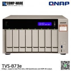 QNAP NAS (8-Bay) TVS-873e (4GB DDR4 RAM)