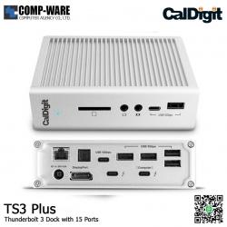 CalDigit Thunderbolt™ Station 3 Plus (15 Ports of Extreme Connectivity)