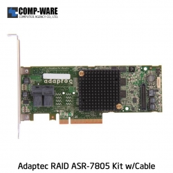 Microsemi Raid Controller 2274200-R (8-Port Internal) PCIe ASR-7805 Kit