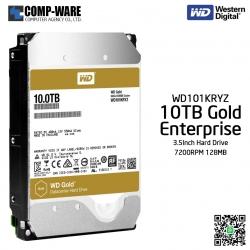 WD Gold 10TB Enterprise Class Hard Drive 7200RPM SATA 6Gb/s 128MB Cache 3.5Inch - WD121KRYZ