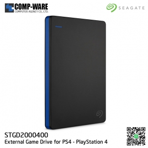 Seagate 2TB Game Drive for PlayStation 4 Portable External USB Hard Drive (STGD2000400)