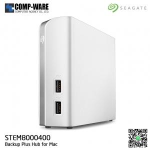 Seagate Backup Plus Hub for Mac 8TB External Desktop Hard Drive (STEM8000400)