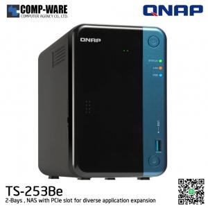 QNAP NAS (2-Bay) TS-253Be (4GB RAM)