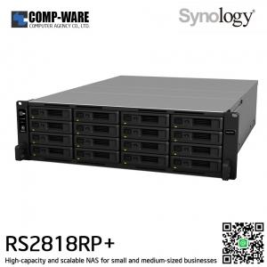 Synology RackStation (4U 16-Bay) RS2818RP+ (4GB RAM) Redundant Power Supply