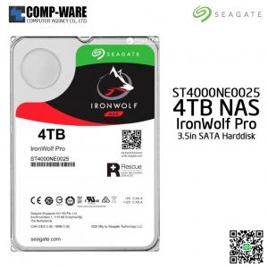 Seagate 4TB IronWolf Pro 7200RPM SATA 6Gb/s 128MB Cache 3.5-Inch NAS Hard Disk Drive (ST4000NE0025)
