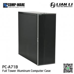 LIAN LI PC-A71B Black Aluminum ATX Full Tower Computer Case