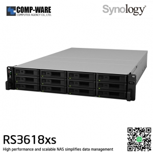 Synology RackStation (2U 12-Bay) RS3618xs (8GB RAM)