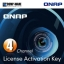 QNAP LIC-CAM-NAS-4CH 4 Camera License Activation Key for Surveillance Station Pro for QNAP NAS thumbnail 1